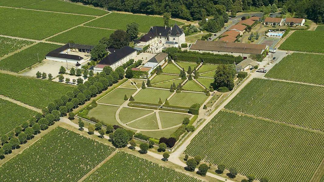 Château de Pizay - Vue aérienne