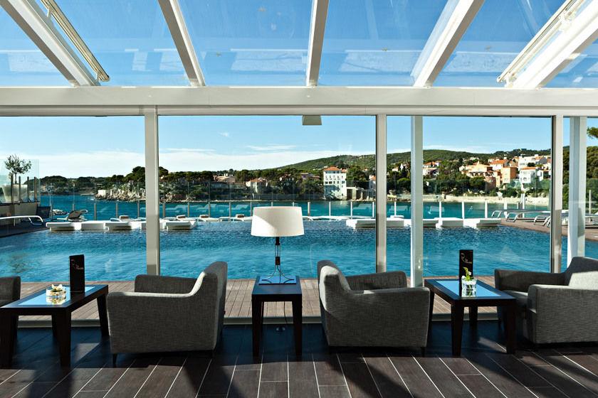 Hotel Ile Rousse - Salle de Réception (1)