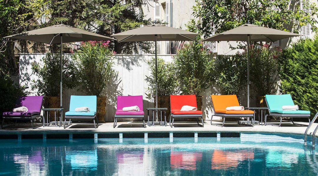 Hotel jules cesar piscine