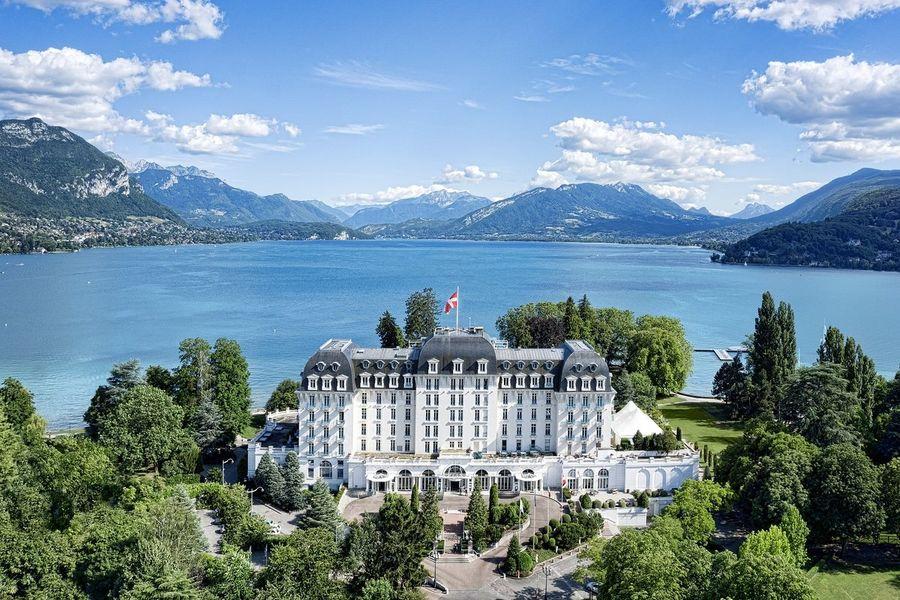 Imperial Palace Annecy - Impérial Palace et vue sur le Lac d'Annecy