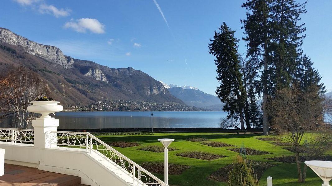 Imperial Palace Annecy - Vue sur le lac d'Annecy