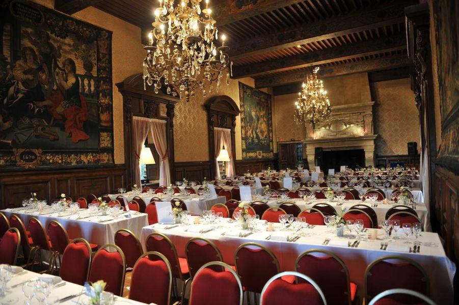 Chateau de Coudree - Grand Salon des Tapisseries