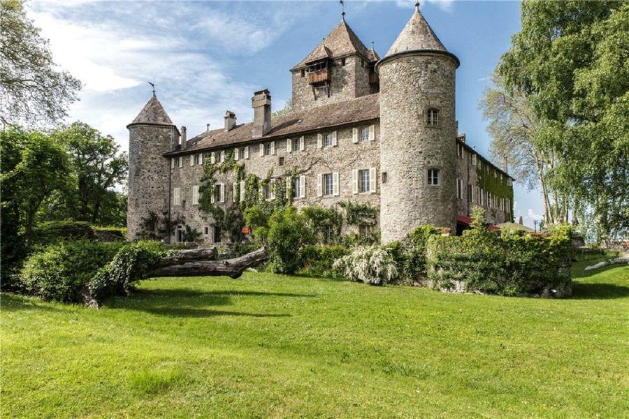 Chateau de Coudree - Le Château de Coudrée 01