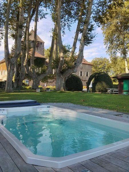 Chateau de Coudree - Piscine du château