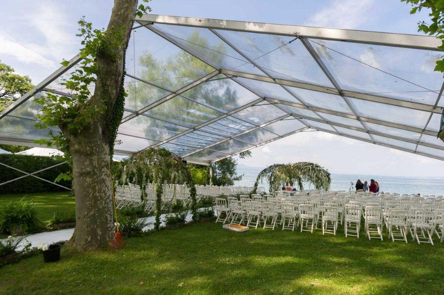Chateau de Coudree - Tente extérieure pour cérémonie