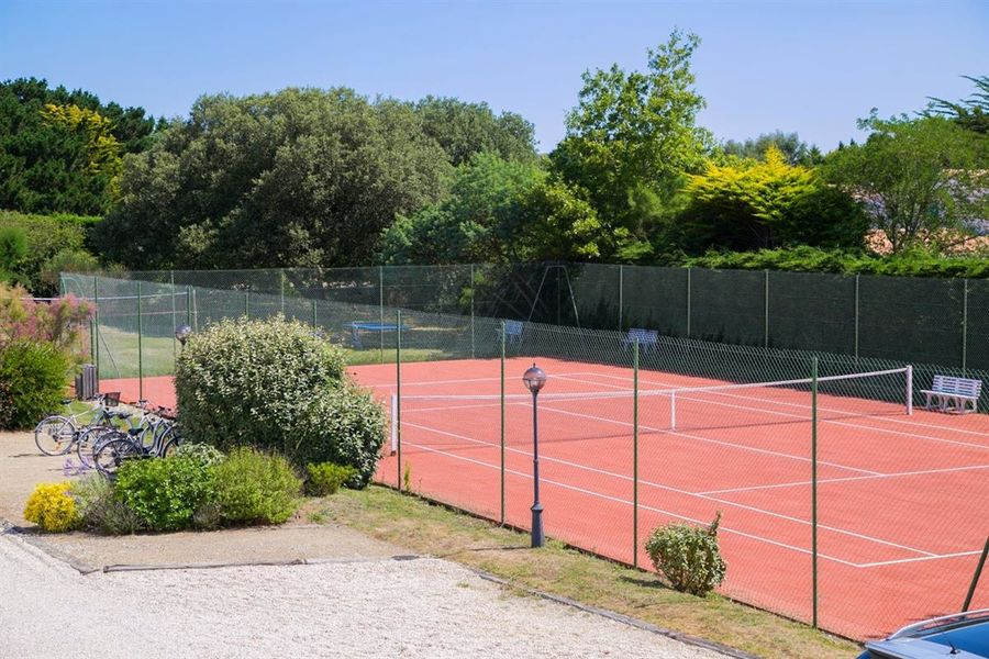Fleur de Sel - Le cour de tennis