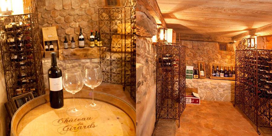 Chateau des Girards - Cave à vin