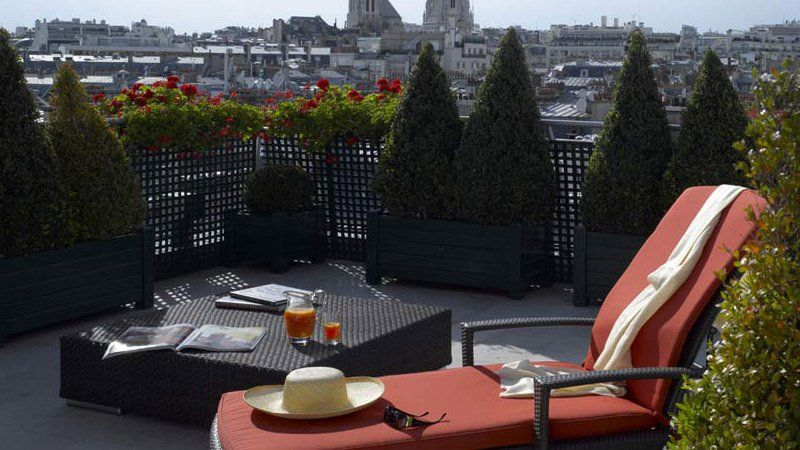 Hotel Plaza Athenee Paris - Terrasse