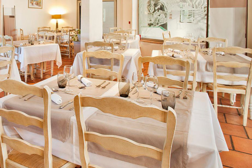 Hotel Mas des Ecureuils - Salle de restaurant