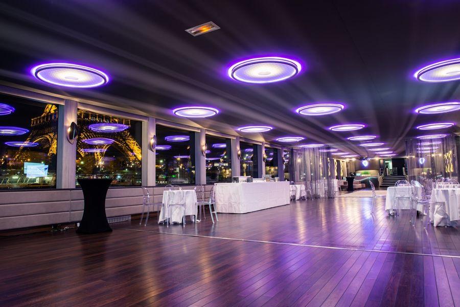 Yacht Diamant Bleu - Salon de réception 2