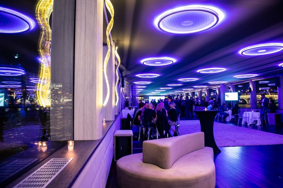 Yacht Diamant Bleu - Salon de réception 11