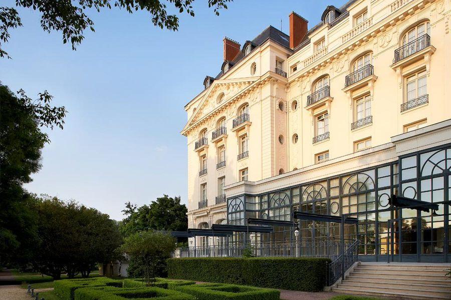 Trianon palace versailles exterieur