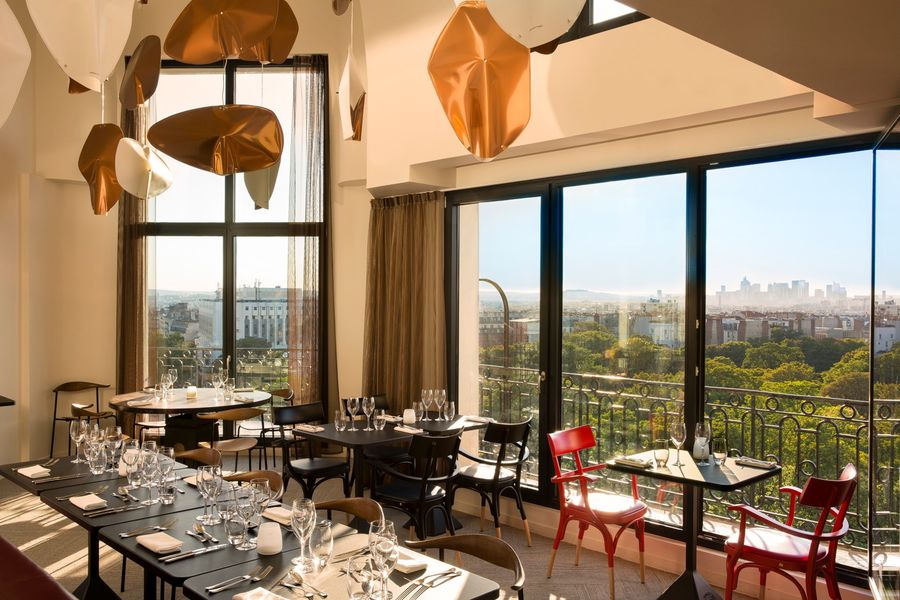 Terrass Hotel - Restaurant panoramique 4