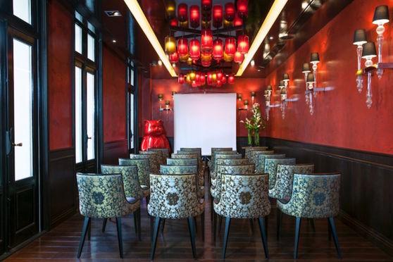 Le salon Lotus avec terrasse