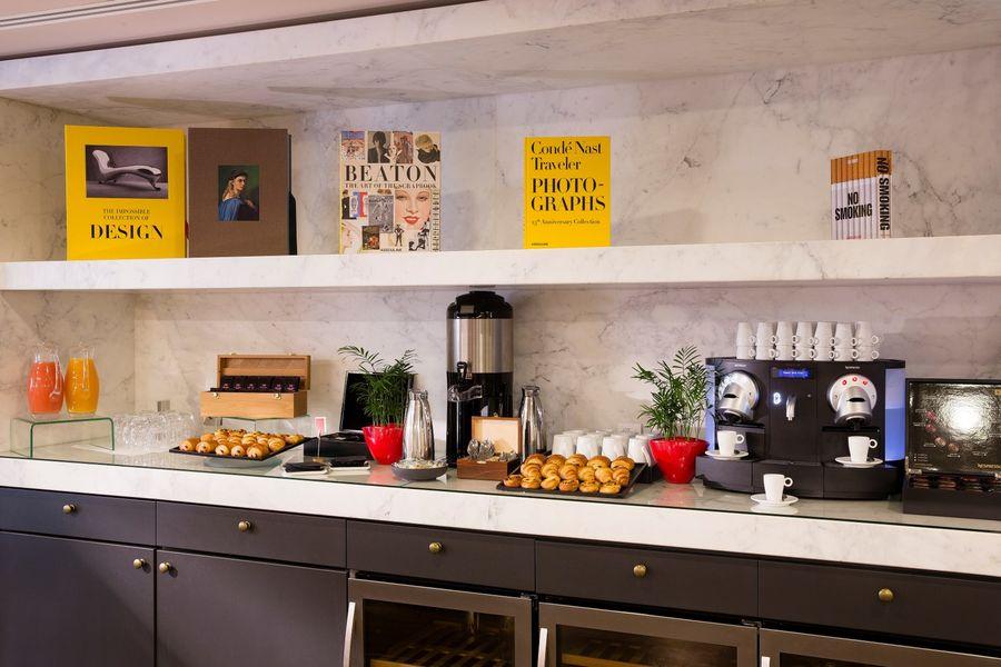 Terrass Hotel - Pause café matin