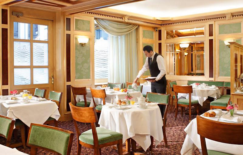 Hotel Rochester Champs Elysées - Salle de petit déjeuner