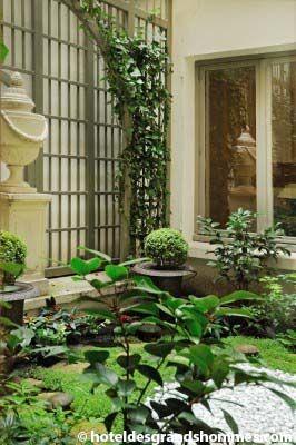 Hôtel des Grands Hommes - Les espaces extérieurs 2