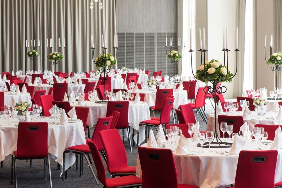 Hôtel Marriott Lyon Cité Internationale - Salle en banquet 2