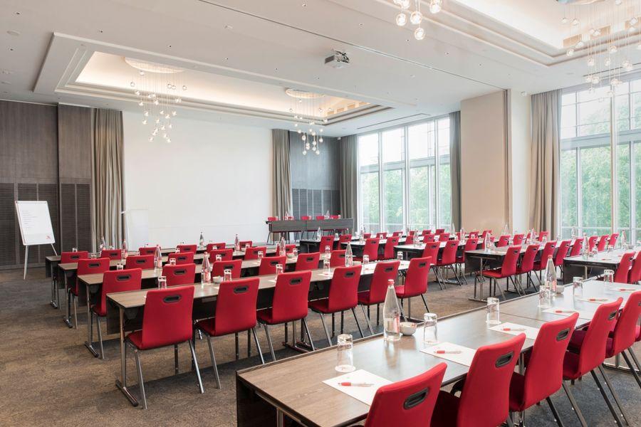 Hôtel Marriott Lyon Cité Internationale - Salle en classe 1