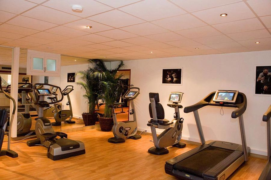 Chateau de Montvillargenne - Le fitness center