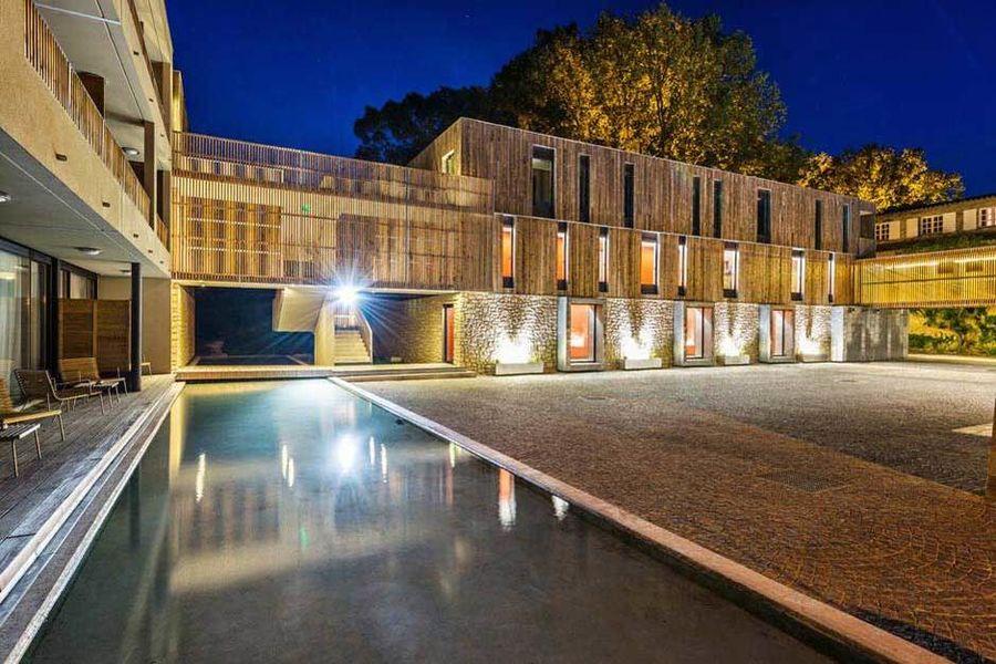 Moulin de Vernègues - Vue nocturne