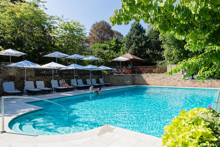 Hôtel Ermitage Evian Resort - La piscine