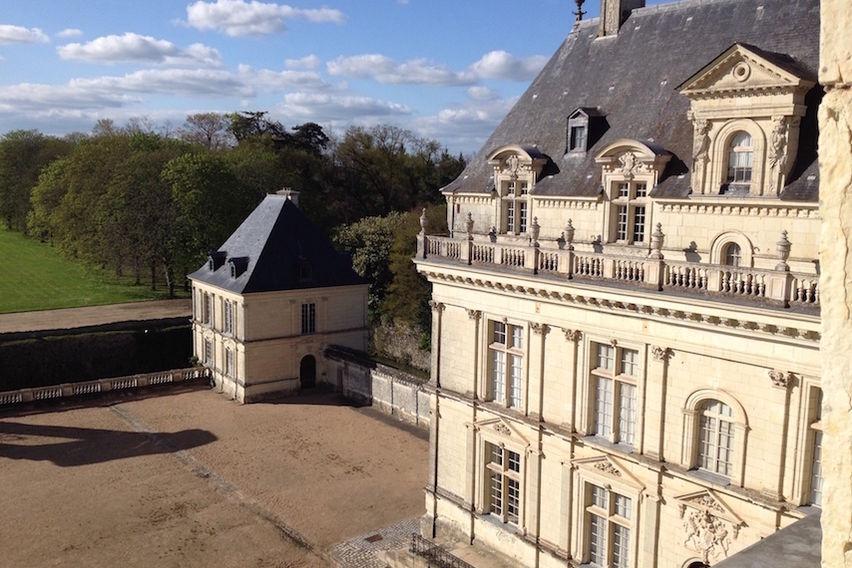 Château de Serrant - Cour intérieure