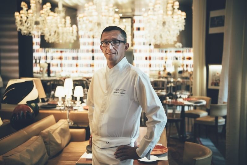 Le Royal Monceau Raffles Paris -Chef Laurent André 1