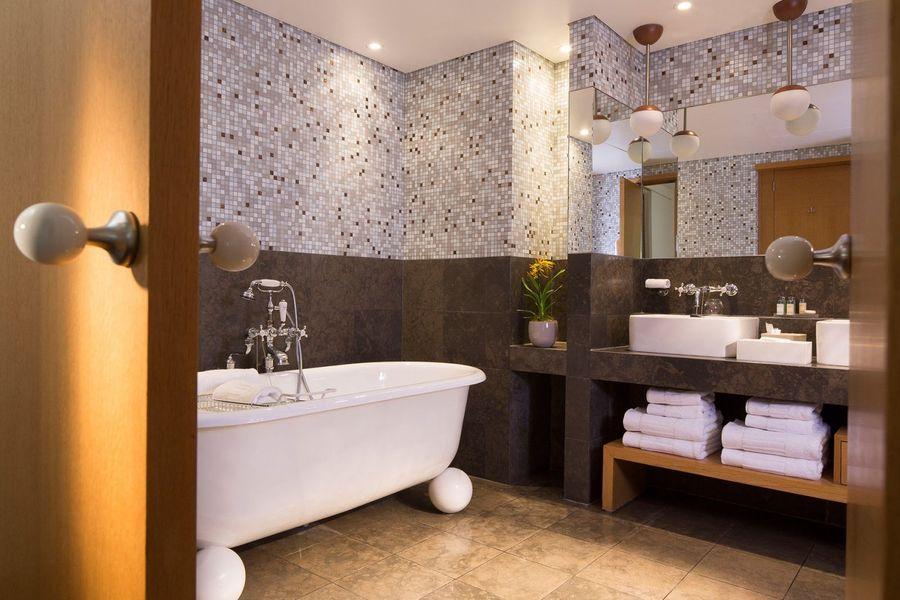 Hôtel Pershing Hall - Salle de bain