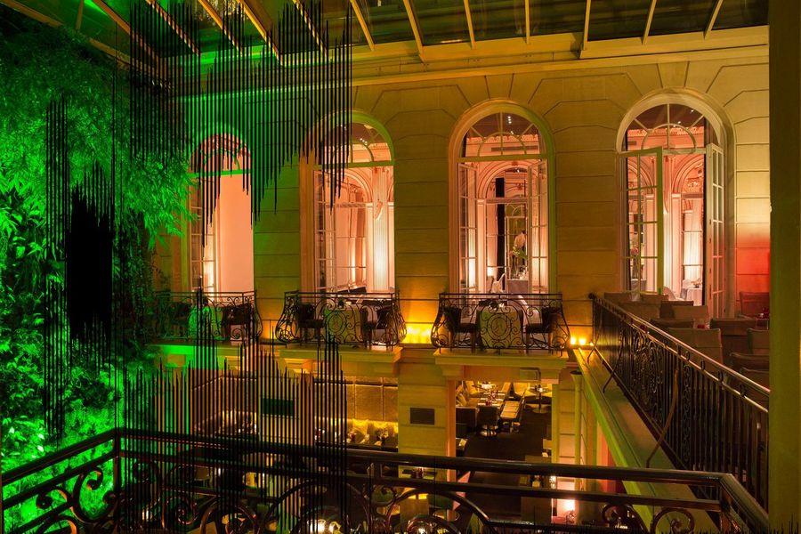 Hôtel Pershing Hall - Vue sur le Patio