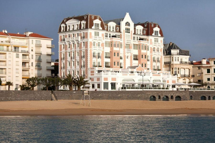Grand Hôtel Saint Jean de Luz - Hôtel vu de la plage