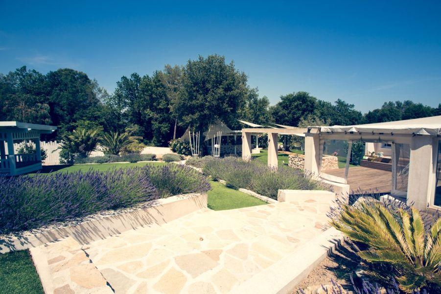 Villa Azzaro - Les espaces extérieurs