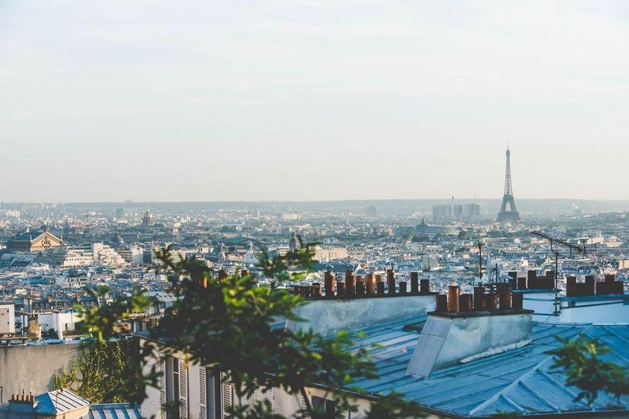 Espace Montmartre - Vue sur Paris