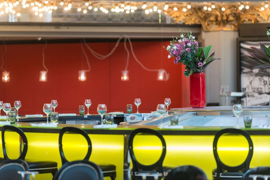 Brasserie Printemps - Bar central