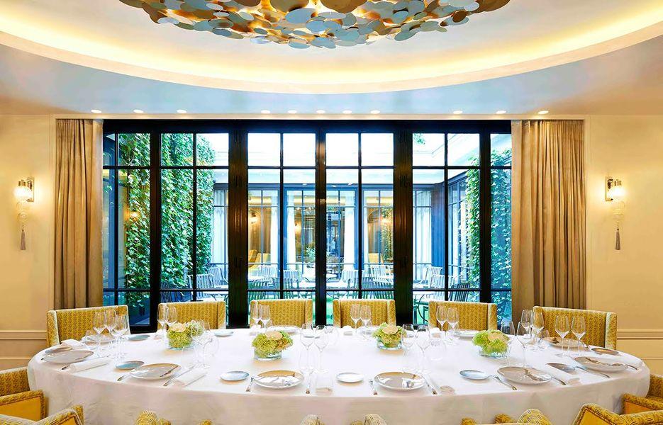 Hôtel Burgundy ***** - Salon Rotonde