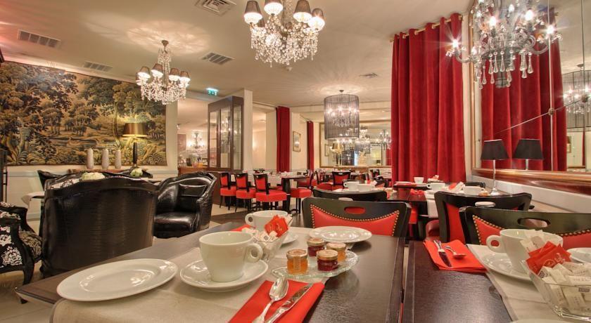 Hotel Best Western Trianon Rive Gauche - Salle du restaurant