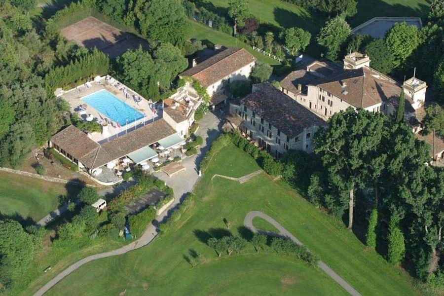 Château de la Bégude - Vue aérienne