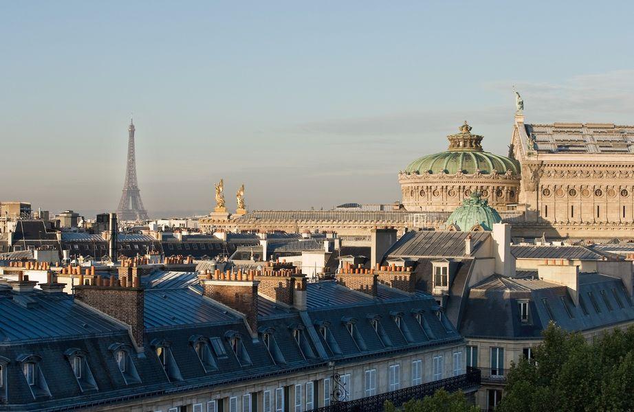 Paris marriott opera ambassador hotel vue