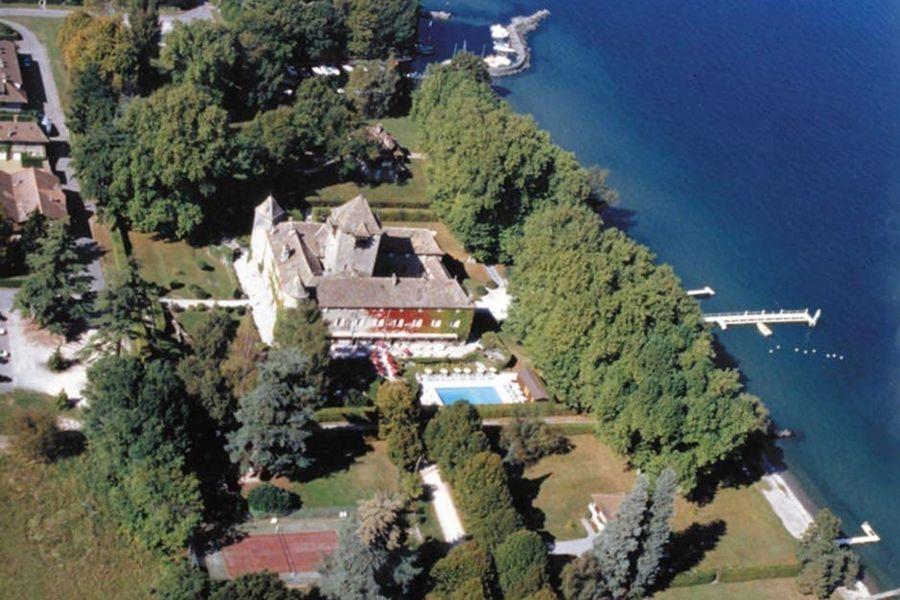 Château de Coudrée - Vue aérienne