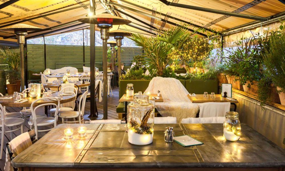 Auteuil Brasserie - Rooftop d'hiver