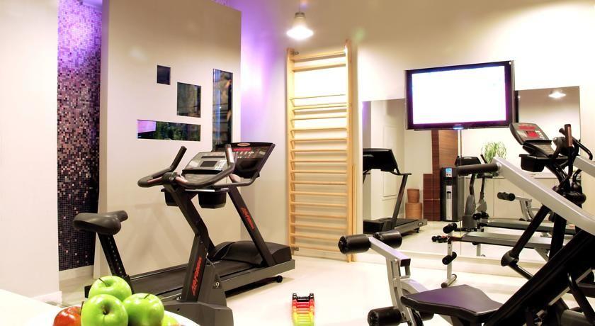 Hôtel Bel Ami ***** Salle de fitness