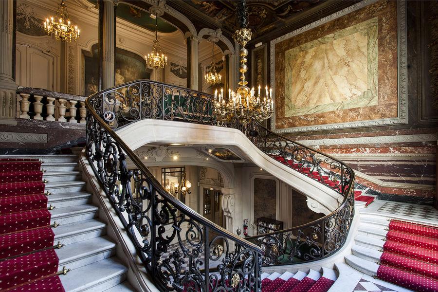 Les salons France Amériques Escalier d'Honneur