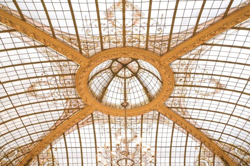Hôtel Vernet ***** Plafond Restaurant