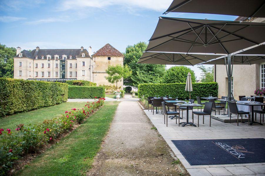 Château de Saulon *** Extérieur Château
