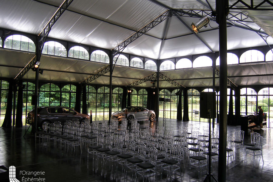 Château de la Cour Senlisse Grande Orangerie