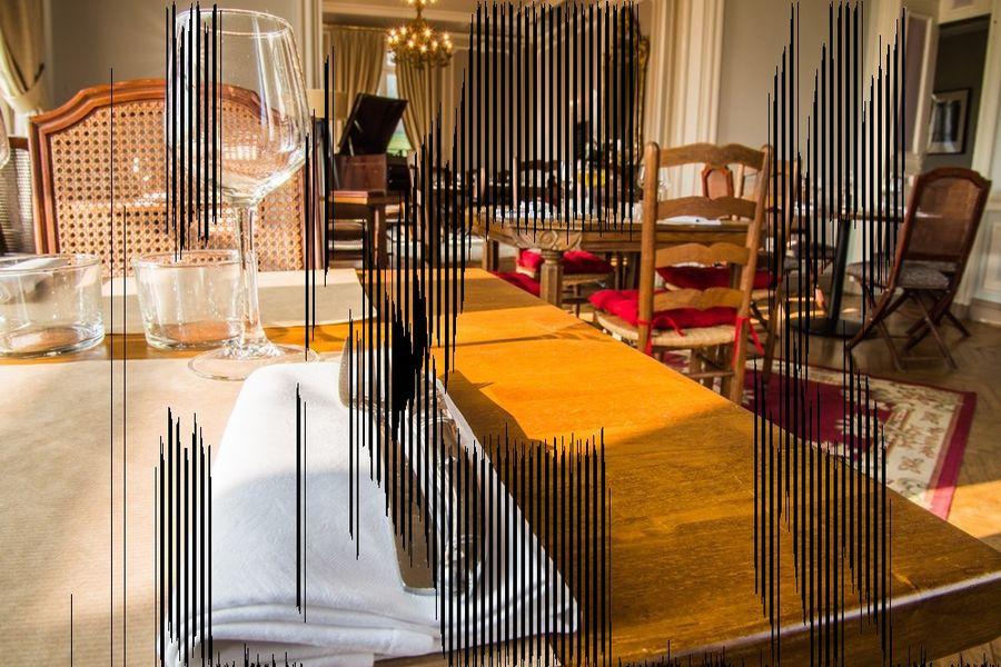 Golf Hôtel de Saint Saens *** Restaurant