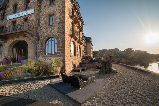 Castel Beau Site Vue entrée