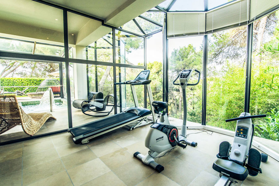 Hotel Le Cantemerle **** Salle de fitness