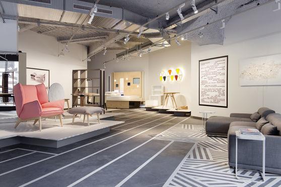 Galerie VIA, espace réservé avec exposition