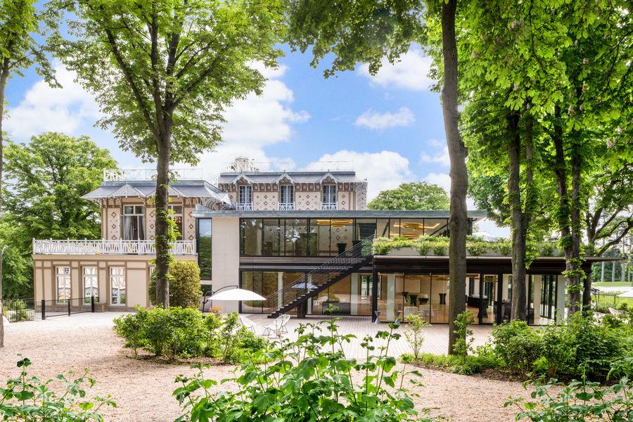 Pavillon Royal Les jardins